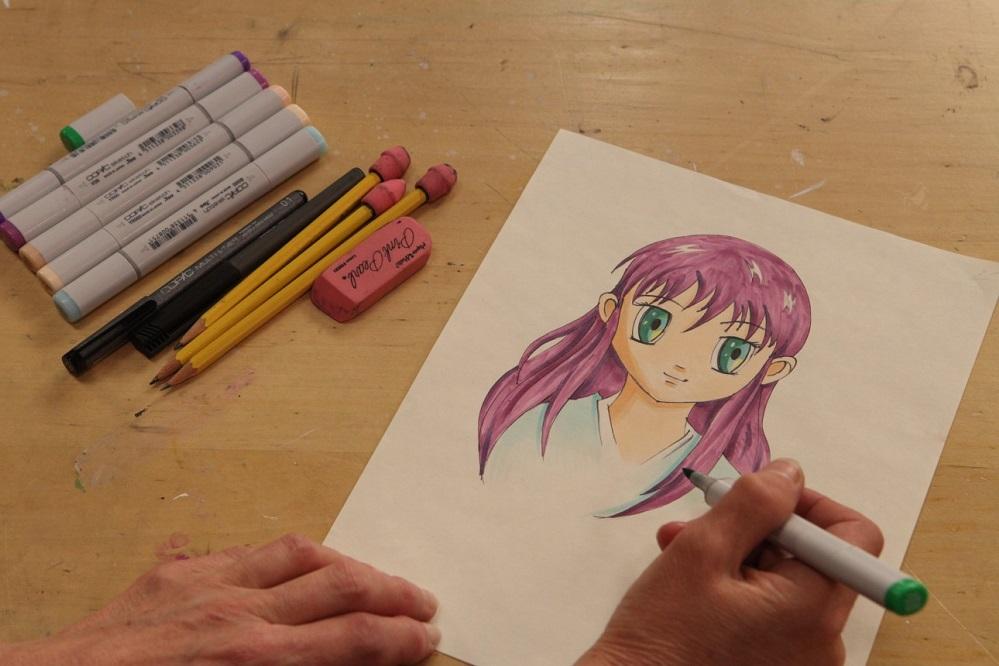 5 livres pour apprendre à dessiner un manga