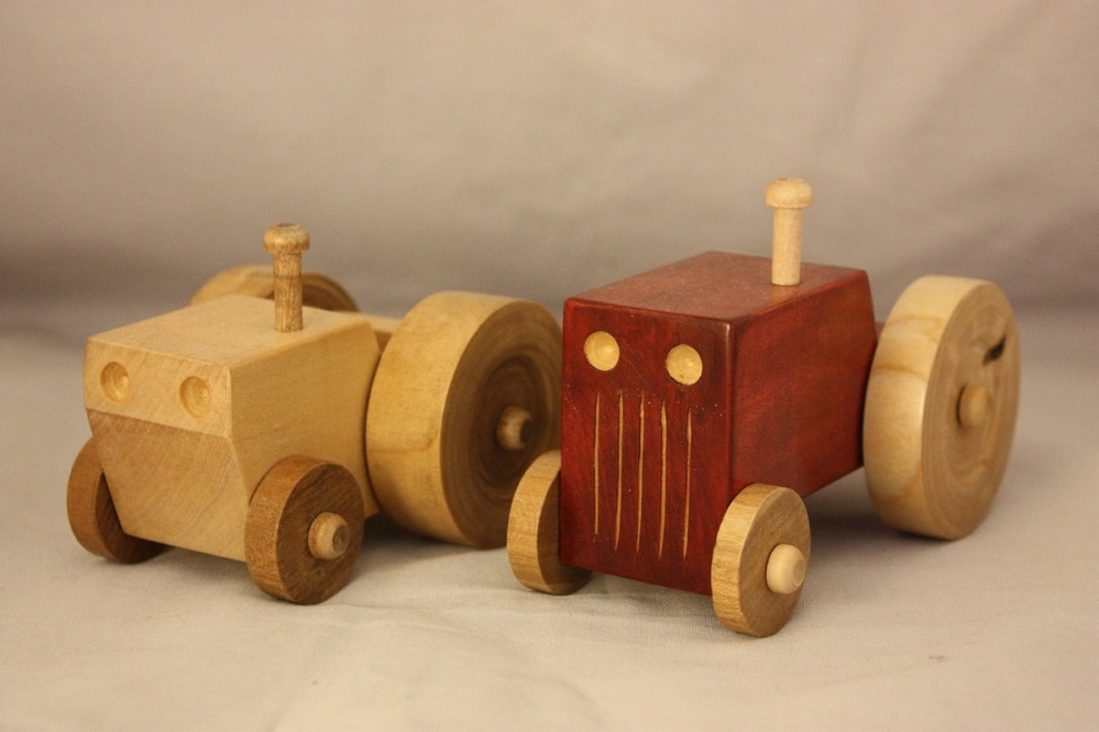 5 livres pour fabriquer des jouets en bois