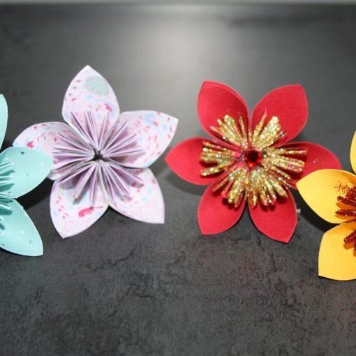 5 livres pour faire des fleurs en papier
