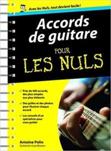 Accords de guitare pour les nuls (Antoine Polin)
