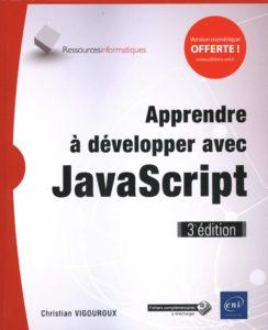 Apprendre à développer avec JavaScript (Christian Vigouroux)