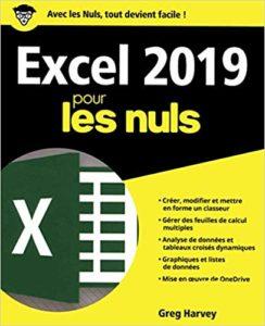Excel 2019 pour les Nuls (Greg Harvey)