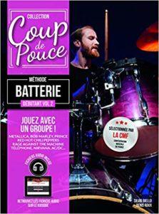Coup de pouce - Batterie débutant Volume 2 + 2 CD audio + Partitions (Roux Denis)