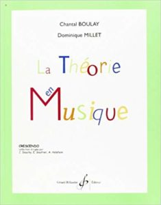 La théorie en musique (Chantal Boulay)