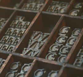 Les 5 meilleurs livres sur la typographie