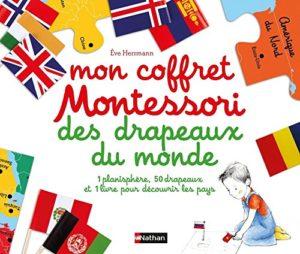 Mon coffret Montessori des drapeaux du monde (Eve Herrmann)