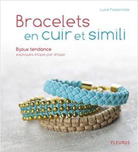 Bracelets en cuir et simili Lucie Fossemalle