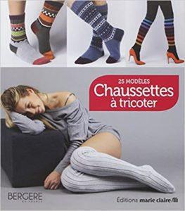 Chaussettes à tricoter 25 modèles Marie Claire