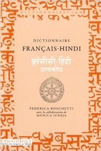 Dictionnaire français hindi Federica Boschetti