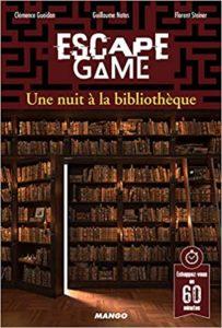 Escape Game une Nuit à la Bibliothèque Collectif