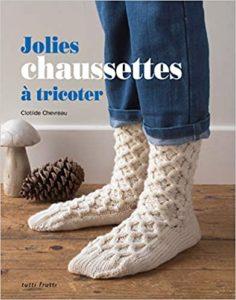Jolies chaussettes à tricoter Clotilde Chevreau