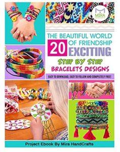 Kit premium de création de bracelets d'amitié Mira Handcrafts