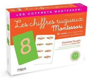 Les chiffres rugueux – Pédagogie Montessori Charlotte Poussin Marie Ollier