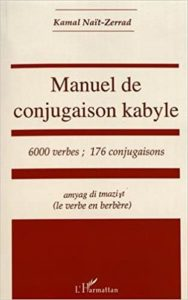 Manuel de conjugaison kabyle Kamal Nait Zerrad
