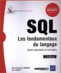 SQL les fondamentaux du langage Anne Christine Bisson Eric Godoc
