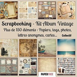 Scrapbooking – Kit album vintage Collectif